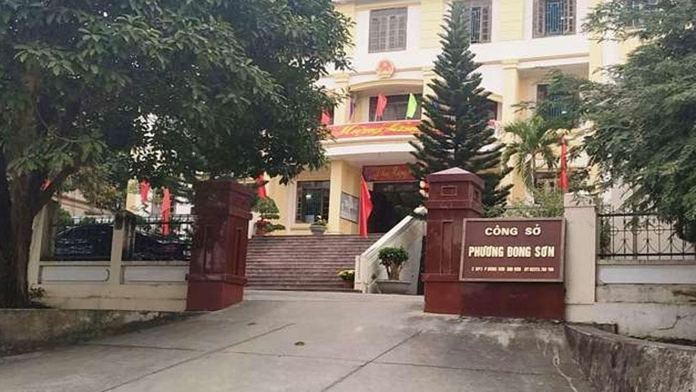Khởi tố Bí thư Đảng ủy phường ở Thanh Hóa
